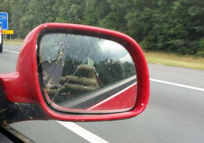 De kapotte spiegel